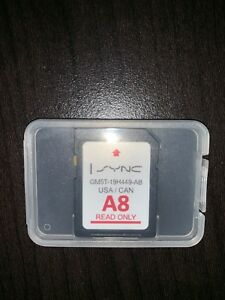 Ford/Lincoln A8 Navigation Card