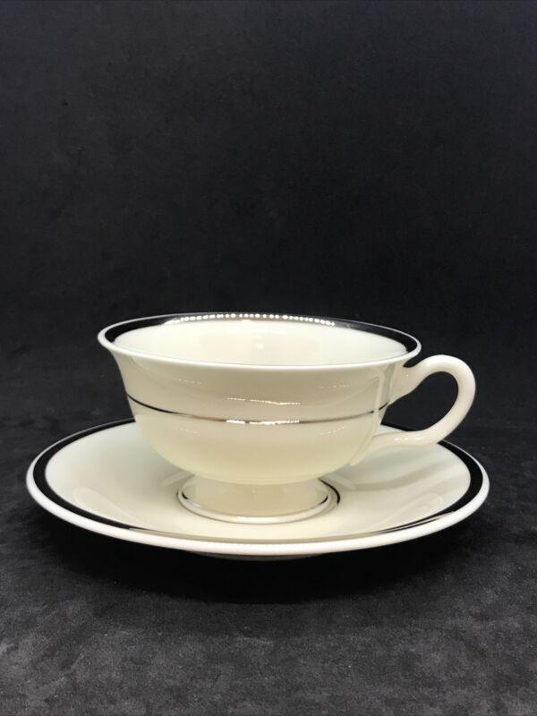 Castleton Fine China ST.REGIS Teacup & Saucer Set Made in U.S.A.