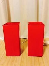 IKEA red lamps x2 Artarmon Willoughby Area Preview