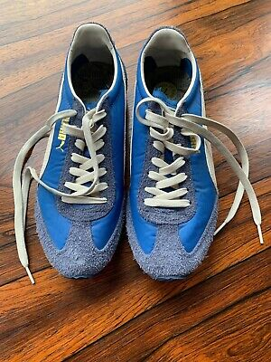 Blue Puma Mens Trainers UK Size 7 Excellent condition