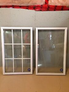 Windows with glass standard size for ON house