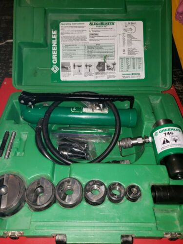 Greenlee 767 Pump and Ram With 1/2