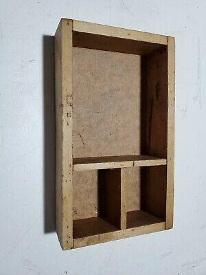 Letterpress Tool Case Vintage Print Tray Wood Printers Drawer