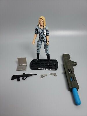 Gi Joe Cobra Girl (GI JOE COURTNEY COVER GIRL KRIEGER Rise of Cobra COMPLETE v2)