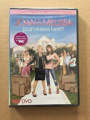 RARE Joan Rivers & Melissa Joan Knows Best Full Season 1 DVD 2011 2 Disc Set
