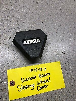 Kubota B6000 Steering Wheel Cover Has Excellent Graphics