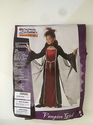 HALLOWEEN California Costumes Vampire Girl  ( size=Child- Small ) - Vampire Costumes