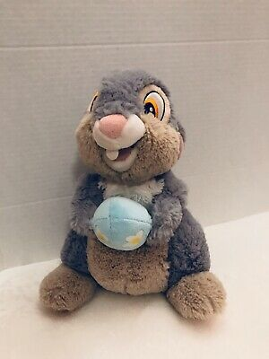 "Disney Hallmark Thumper Plush Easter Egg 11"" Very Soft Fur"