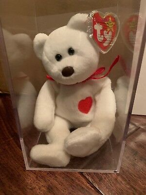 Used, Ty Valentino Beanie Baby Bear with many errors. Mint condition. Rare. 1994 for sale  Shipping to Canada