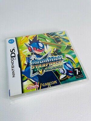 Mega Man Starforce Dragon - Nintendo DS Game - RARE - UK...