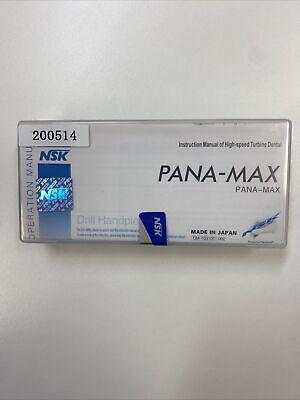 Dental Nsk Type Pana-max Turbine Drill High Speed Handpiece Push Om-t0310c 002