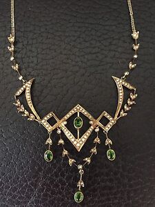 STUNNING ANTIQUE NECKLACE  over 100 years old