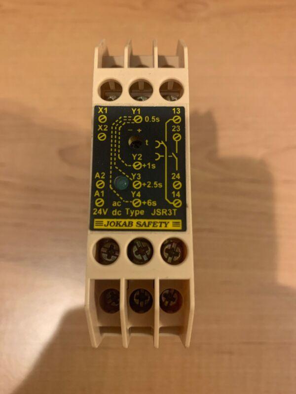 Jokab safety relay JSR3T 24VDC