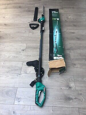 New FERREX 20v Li-ion Cordless Telescopic Hedge Trimmer No Battry Or Chargerbody