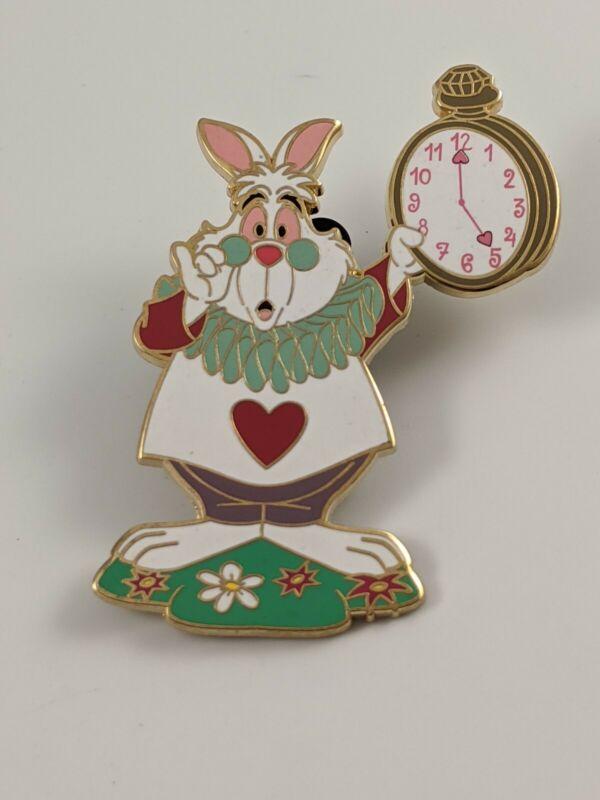 Disney Pin Trading Disneyland Paris DLP Alice In Wonderland White Rabbit Pin