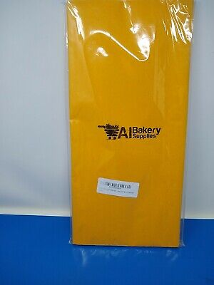 Goldenrod Tissue Paper 15 x 20 100sheets HIGH Quality Paper