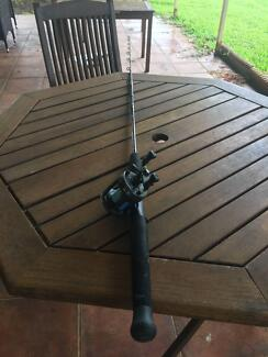 overhead combo!!!! great all-round bait fishing rod and reel