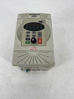 Automationdirect Gs2-41p0 1hp Variable Frequency Ac Micro Drive 3ph 0.1-400hz