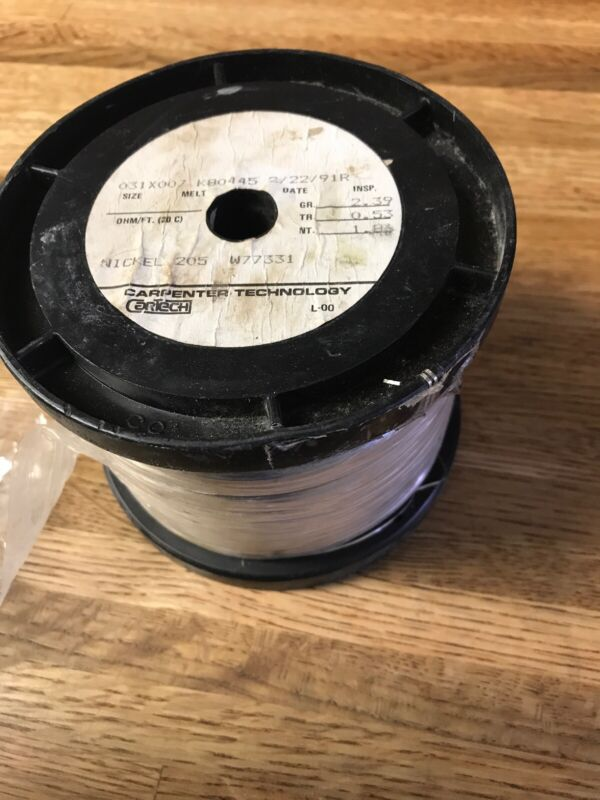Nickel-chromium 205 Resistance Wire Nichrome ? 2 Lbs. 6 Oz. Including Spool