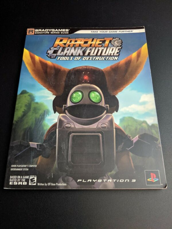 Ratchet Clank Future Tools Of Destruction Ps3 Brady Strategy Guide