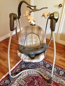 Graco  baby swing.