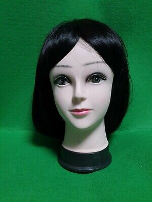 Dark Brown Bobbed Hair Wig for Woman