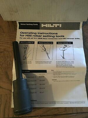 Hilti 220695 Te-y Sds Max Rebar Adaptor 4 Or 12
