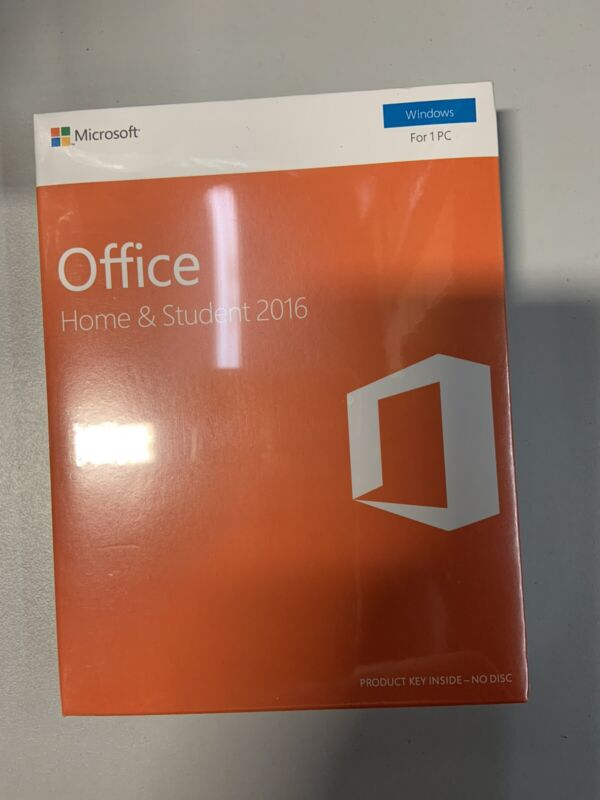 Microsoft Office Home & Student 2016 Windows, for 1 PC, English Eurozone