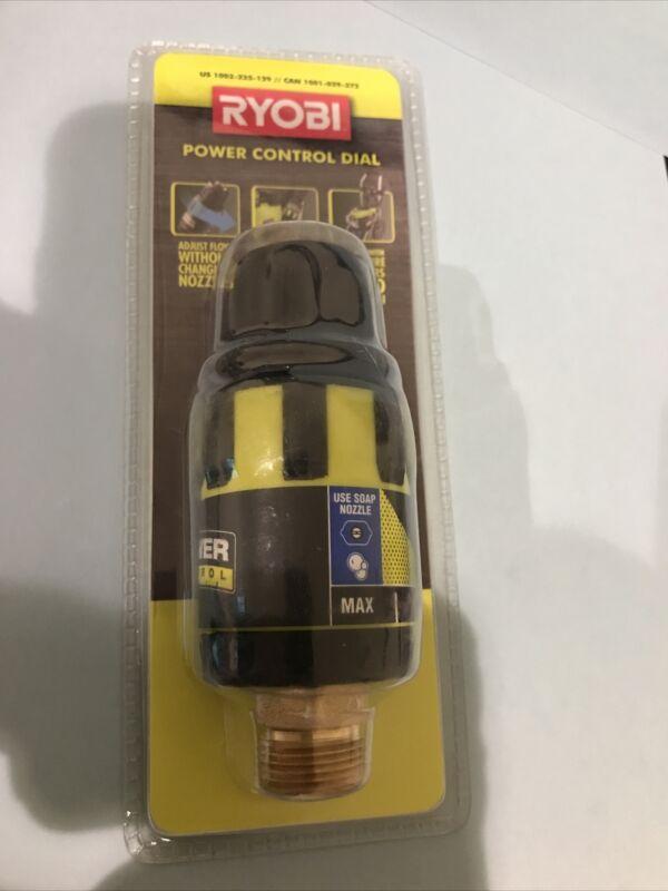 Ryobi Pressure Washer Flow Control Valve  NEW   FREE SHIPPING