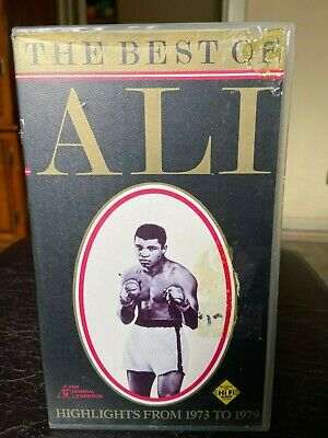 The Best of Ali ex-rental VHS video tape. No DVD release,  Boxing Doco. (Ali G Best Of)