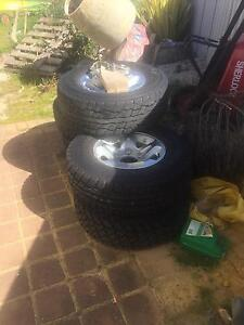 Toyota Land Cruiser gxl rims and tyres Secret Harbour Rockingham Area Preview
