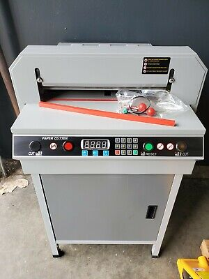 17.7 450mm Automatic Electric Paper Cutter Cutting Machine Power-off Protection
