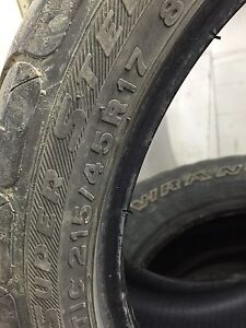 Used tires 215/45r17