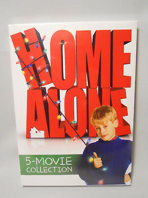 Home Alone: 5-Movie Collection (DVD, 2017, 5-Disc Set) Home Alone, 1,2,3,4 & 5