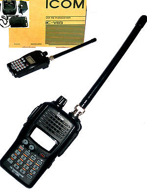 ICOM IC-V85 VHF136-174MHz 2-way transceiver walkie talkie 7w radio+free (174 Mhz Earpiece)