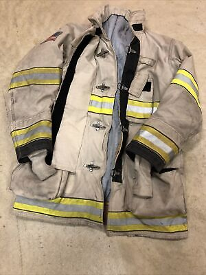 Mfg. 2010 Globe Gxtreme 44 X 35 Firefighter Turnout Jacket Fire Rescue Rare