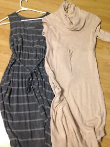 Two old navy maternity dresses- size small