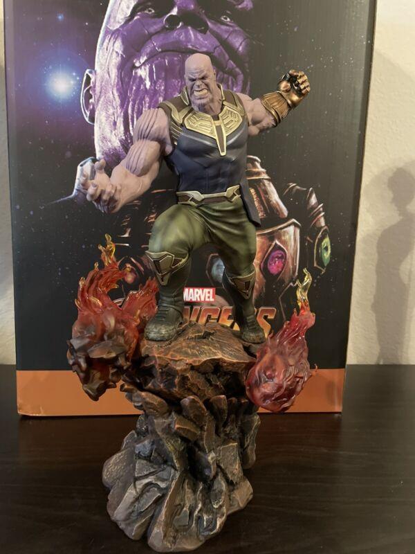 Iron Studios 1:10 Scale Statue: Thanos Avengers Infinity War