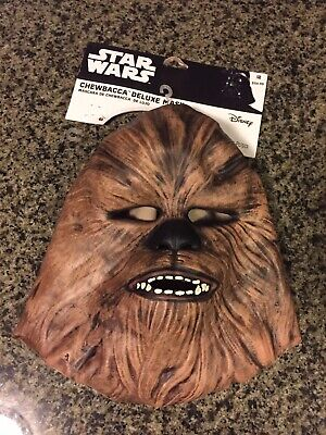 Star Wars Chewbacca Deluxe Mask - Disney - Latex/Rubber Wookiee - -