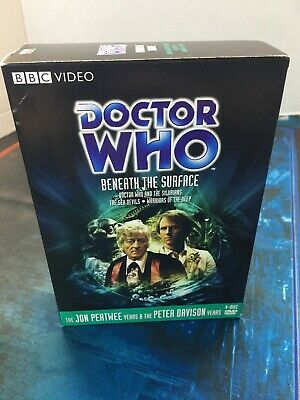 Doctor Who - Beneath the Surface (DVD) Box Set VG Silurians Sea Devils Warriors
