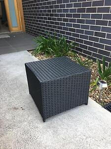 Wicker Outdoor Ottomans Condell Park Bankstown Area Preview