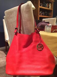 Michael Kors Leather Shoulder bag (price lowered)