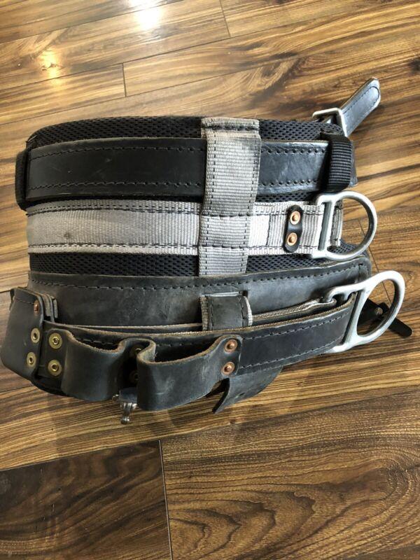 Buckingham 4D Lineman climbing belt
