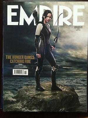 EMPIRE MAGAZINE: Hunger Games Catching Fire : Katniss Collectors Cover Nov 2013 for sale  Shipping to Nigeria