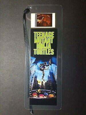 TEENAGE MUTANT NINJA TURTLES Movie Film Cell Bookmark - complements movie poster