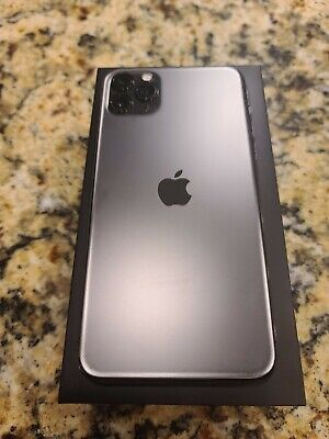 Apple iPhone 11 Pro Max - 256GB - Space Gray (AT&T) SIM CARD Slot -