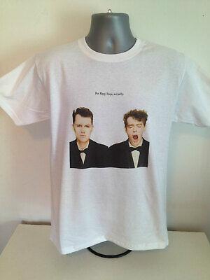 PET SHOP BOYS T-SHIRT Erasure Depeche Mode New Order Soft Cell Synth Pop 1980s