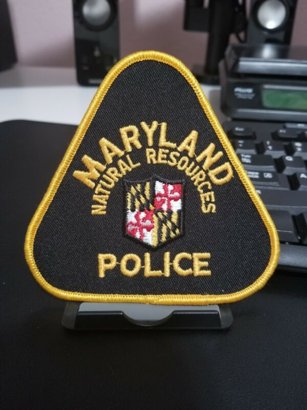 Maryland Department of Natural Resources Police Patch MD