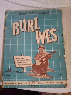 Burl Ives Song Book