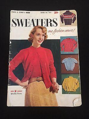Винтажные Vintage Coats & Clark Sweater
